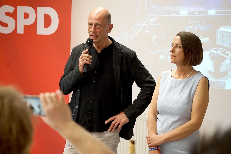 Wolfgang Tiefensee und Babette Winter