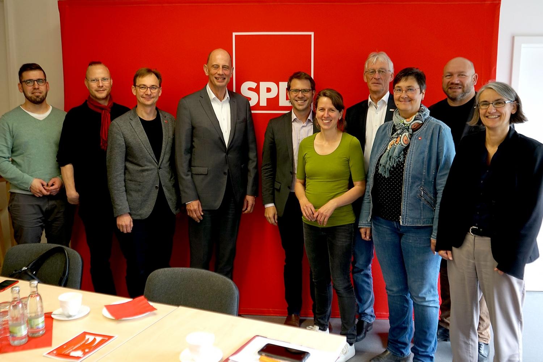 Treffen SPD und DGB