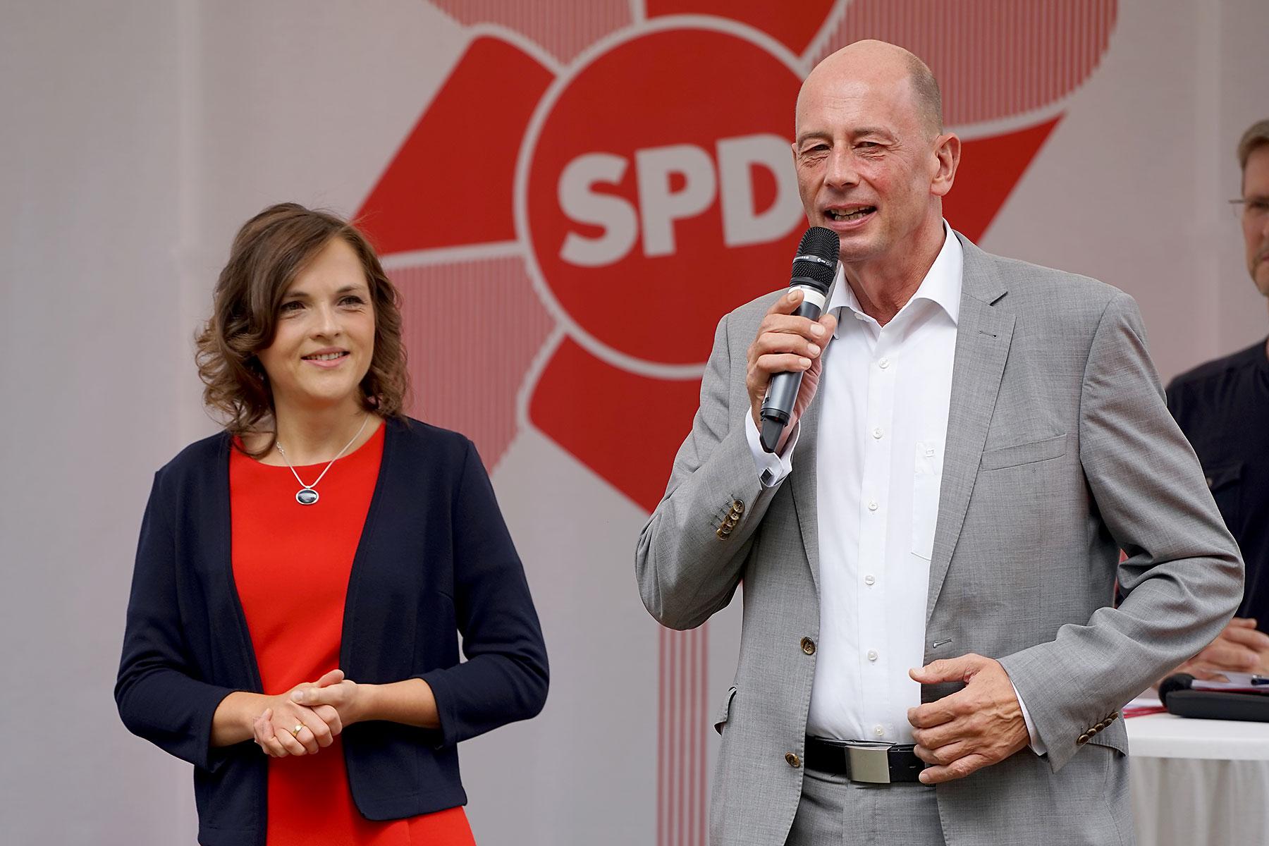 Wolfgang Tiefensee und Elisabeth Kaiser